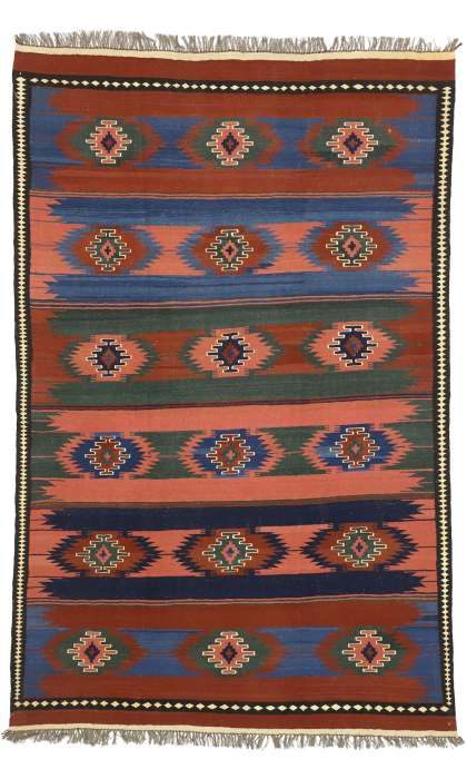 6 x 10 Vintage Kilim Rug 72157