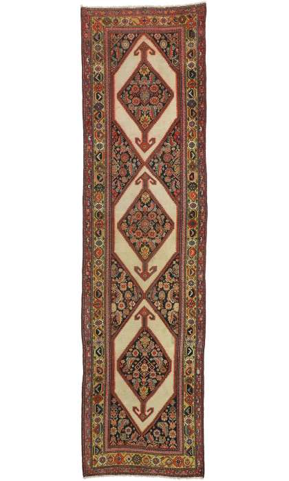 4 x 14 Antique Malayer Rug 77265
