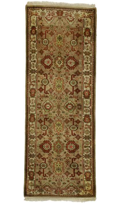 2 x 8 Antique Indian Rug 77312