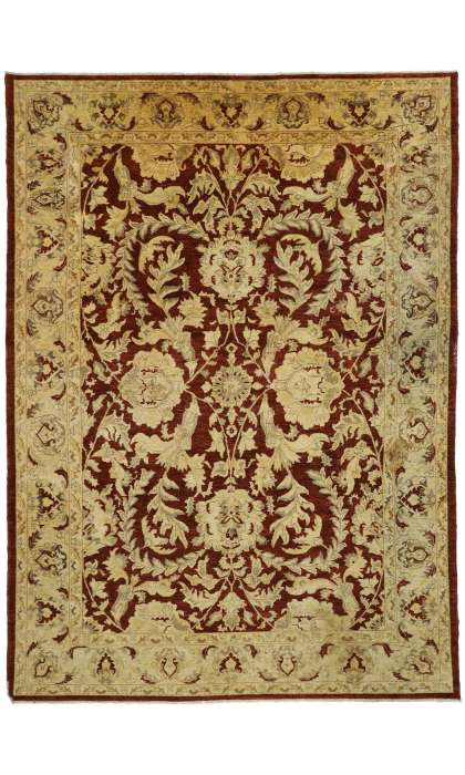 10 x 14 Antique Indian Rug 77315
