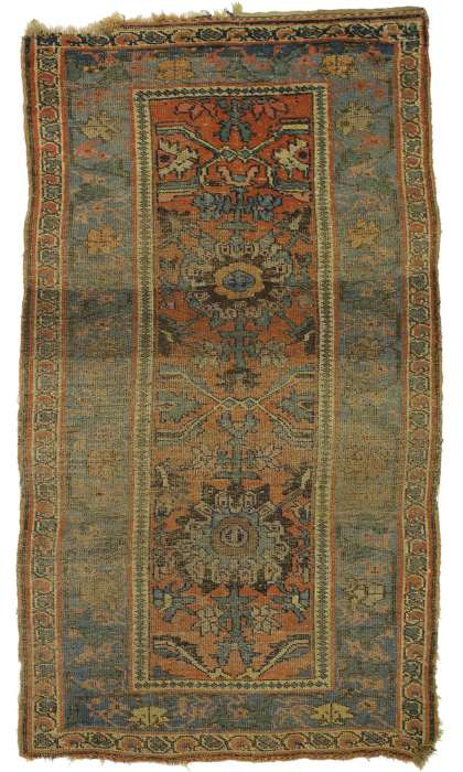 4 x 7 Antique Bijar Rug 77333