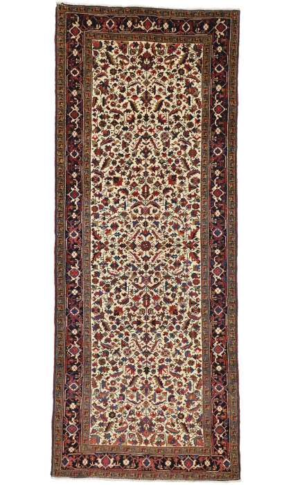 5 x 12 Antique Heriz Rug 77338