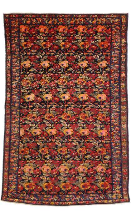 7 x 11 Antique Karabagh Rug 77347