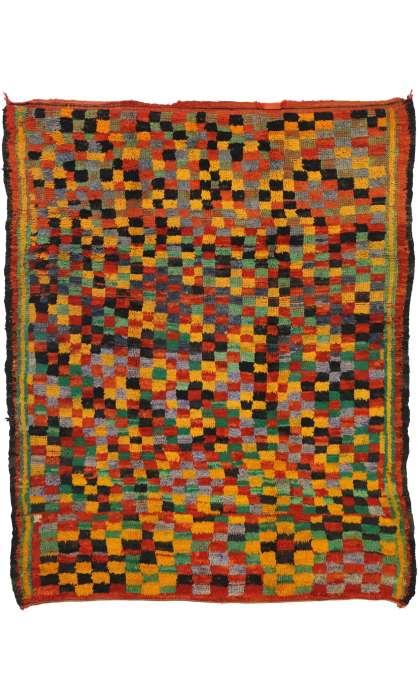 6 x 8 Vintage Moroccan Rug 20889