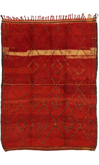 6 x 8 Vintage Moroccan Rug 20890