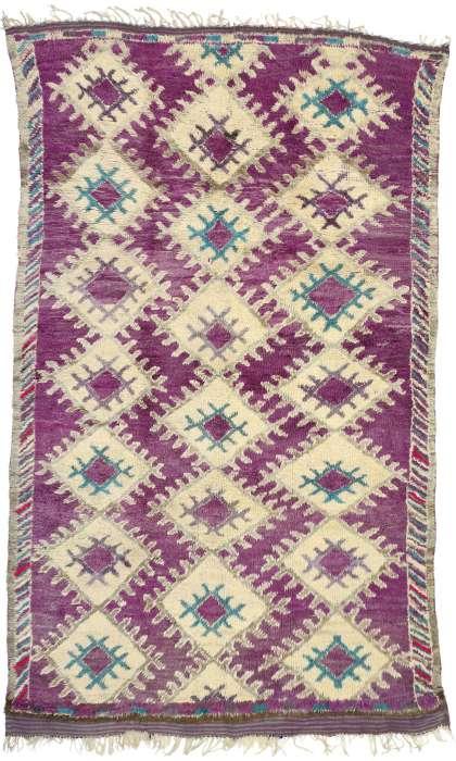 6 x 10 Vintage Moroccan Rug 20892
