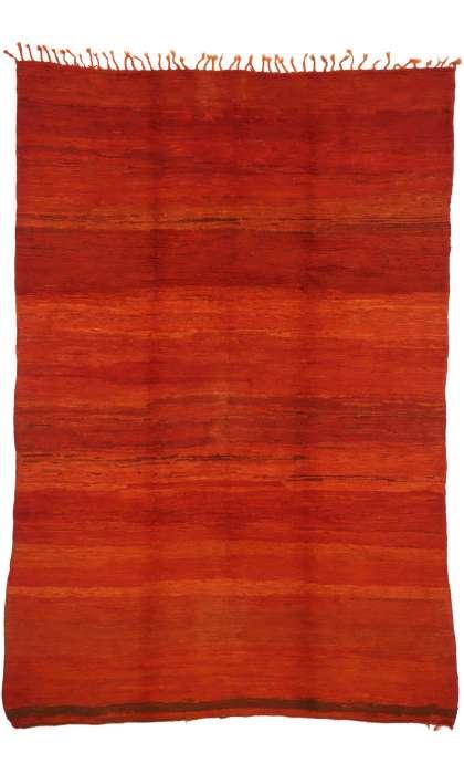 7 x 10 Vintage Moroccan Rug 20894