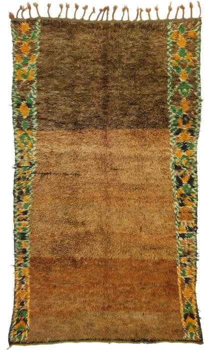 5 x 9 Vintage Moroccan Rug 20895