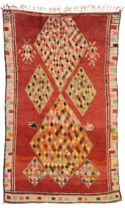 6 x 10 Vintage Moroccan Rug 20898