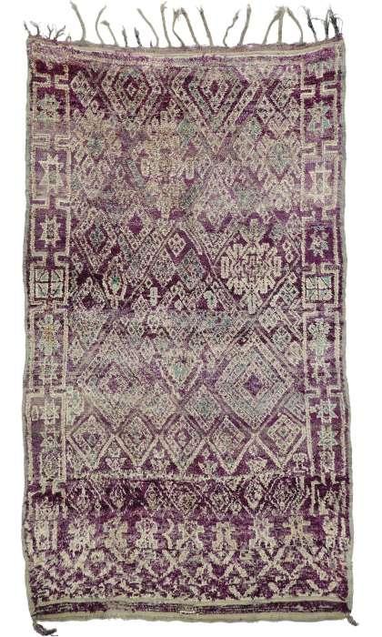 7 x 11 Vintage Moroccan Rug 20901