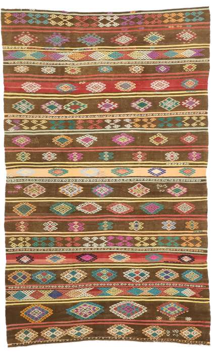 7 x 11 Vintage Kilim Rug 51069
