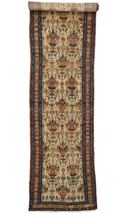 4 x 16 Antique Malayer Rug 71125