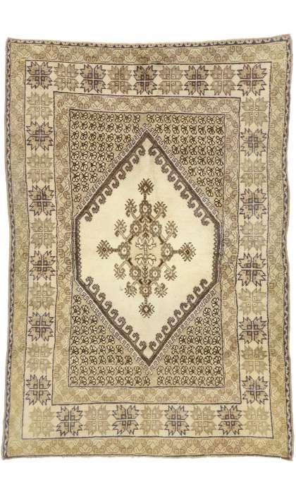 6 x 9 Antique Moroccan Rug 73993