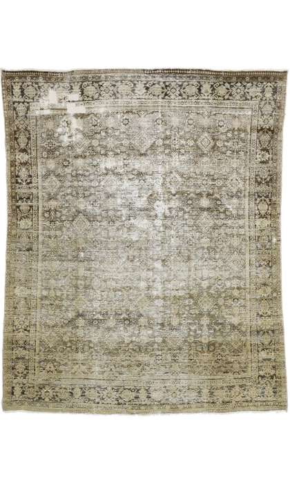 8 x 10 Distressed Mahal Rug 74910