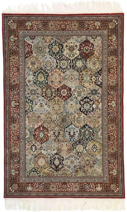 4 x 6 Vintage Tabriz Rug 77344