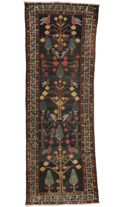 3 x 10 Antique Bakhtiari Rug 77349