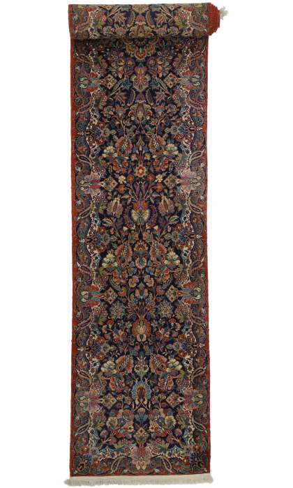 3 x 18 Antique Qazvin Rug 77350
