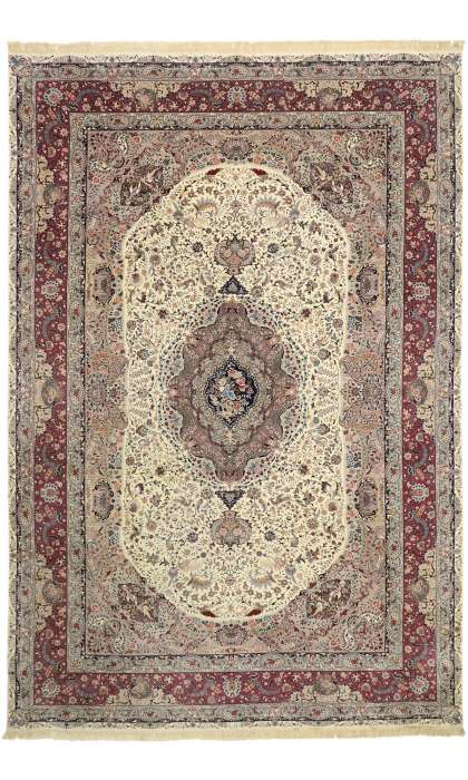 12 x 18 Antique Tabriz Rug 77360