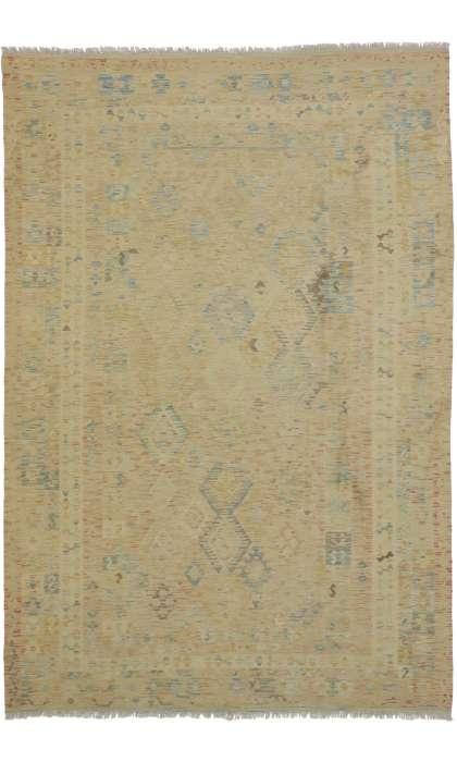7 x 10 Vintage Kilim Rug 80123
