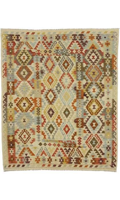 7 x 8 Vintage Kilim Rug 80153