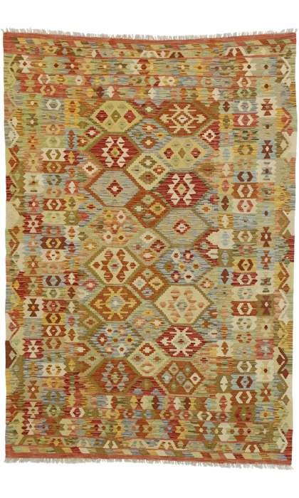 6 x 8 Vintage Kilim Rug 80157
