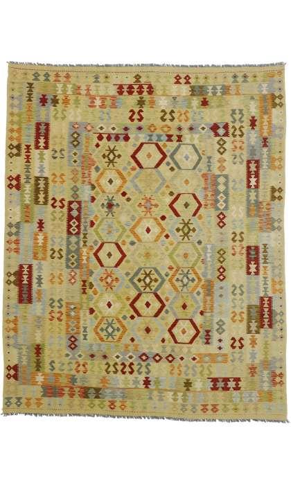 8 x 10 Vintage Kilim Rug 80168