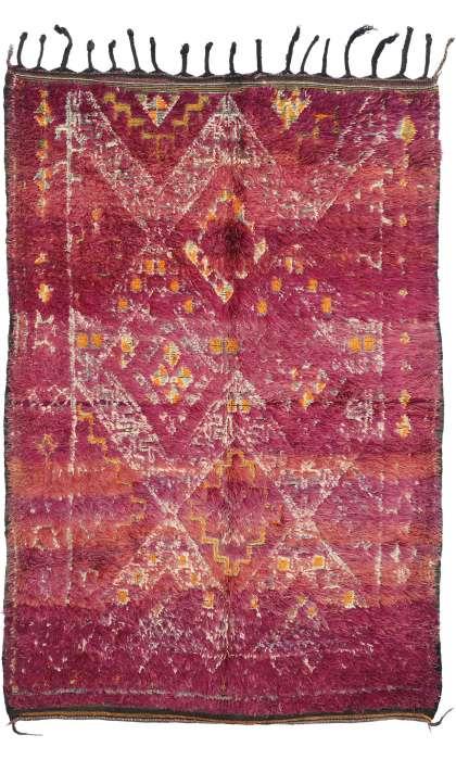 6 x 9 Vintage Moroccan Rug 20115