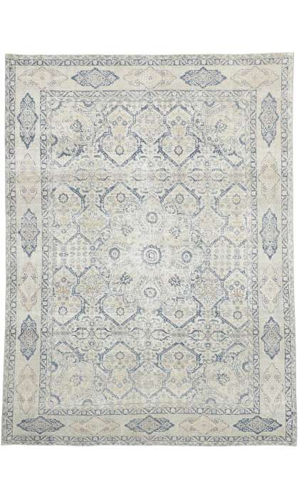 8 x 10 Antique Tabriz Rug 52552