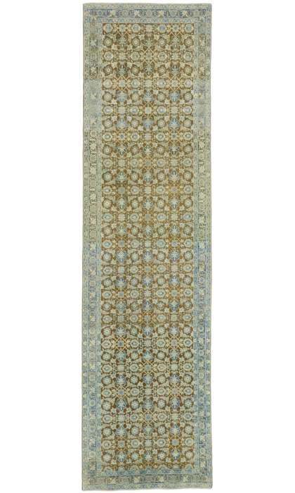 3 x 11 Antique Tabriz Rug 52564