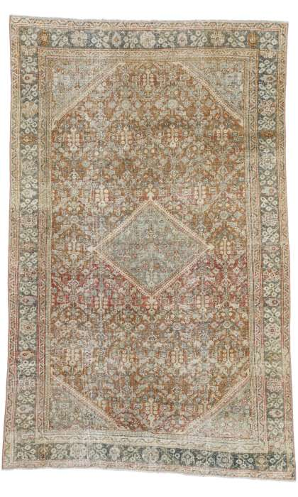 4 x 7 Antique Mahal Rug 52565