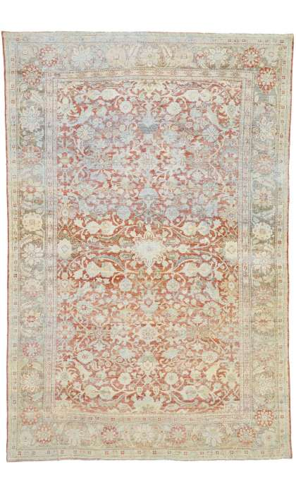 7 x 11Antique Mahal Rug 52616