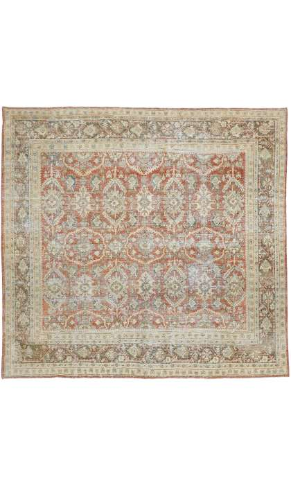 10 x 10 Antique Mahal Rug 52617