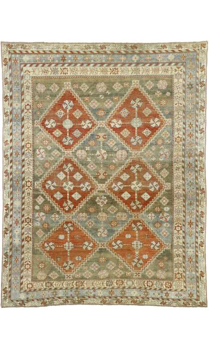 7 x 9 Antique Shiraz Rug 52618