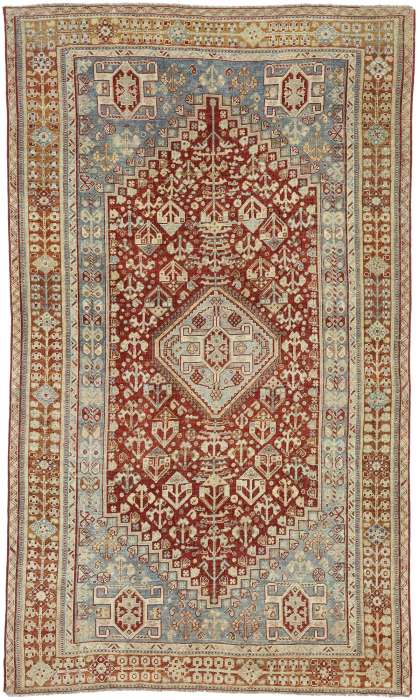 5 x 9 Antique Shiraz Rug 52626