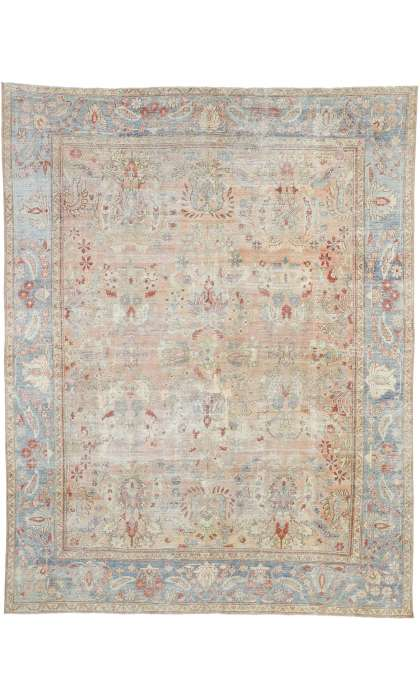 9 x 12 Antique Mahal Rug 52637