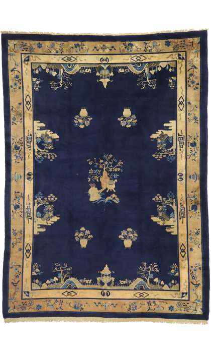 9 x 12 Antique Peking Rug 77375