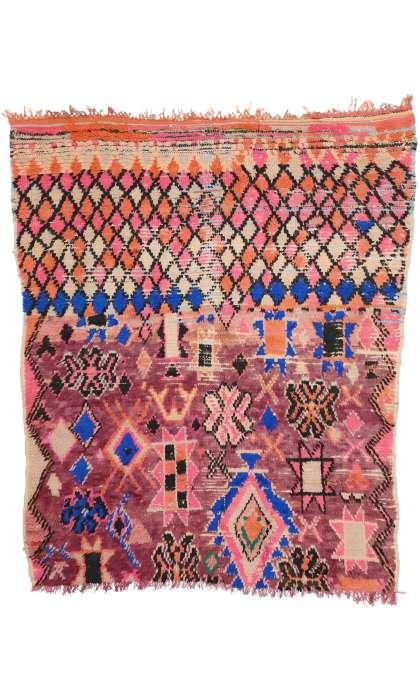 5 x 6 Vintage Moroccan Rug 20480
