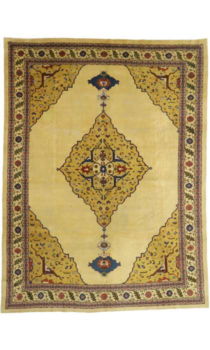 10 x 14 Antique Agra Rug 52657