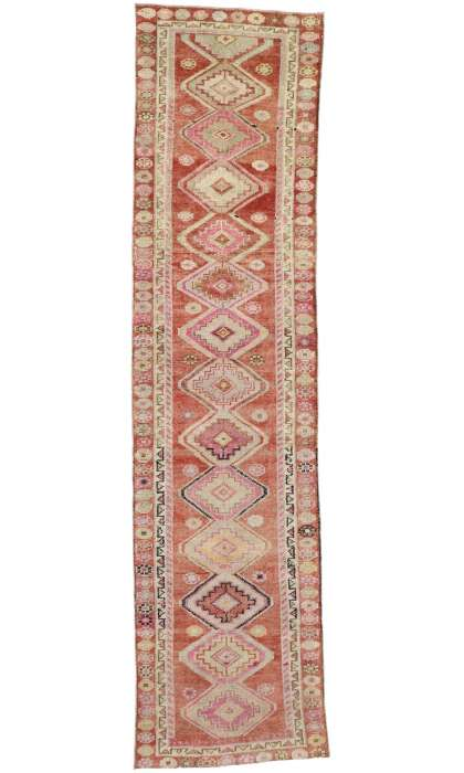 3 x 12 Vintage Oushak Rug 52665