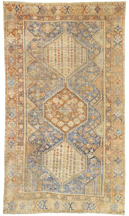6 x 10 Antique Shiraz Rug 526776 x 10 Antique Shiraz Rug 52677
