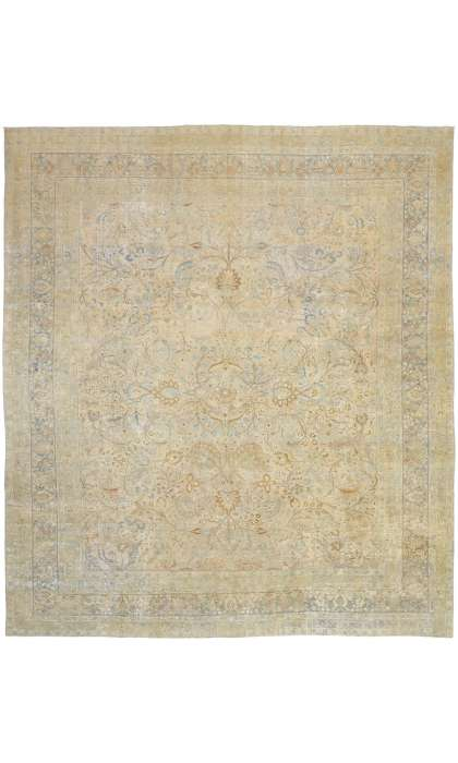 13 x 14 Antique Khorassan Rug 52678