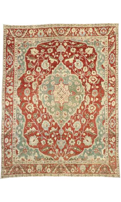 9 x 12 Antique Mahal Rug 52679