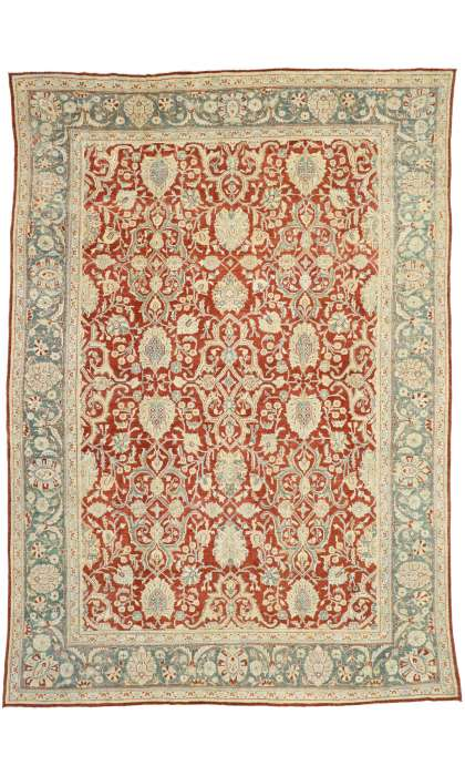 10 x 14 Antique Mahal Rug 52680