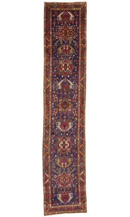 3 x 15 Persian Vintage Heriz Rug 60252