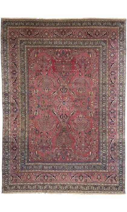 11 x 16 Antique Khorassan Rug 71924