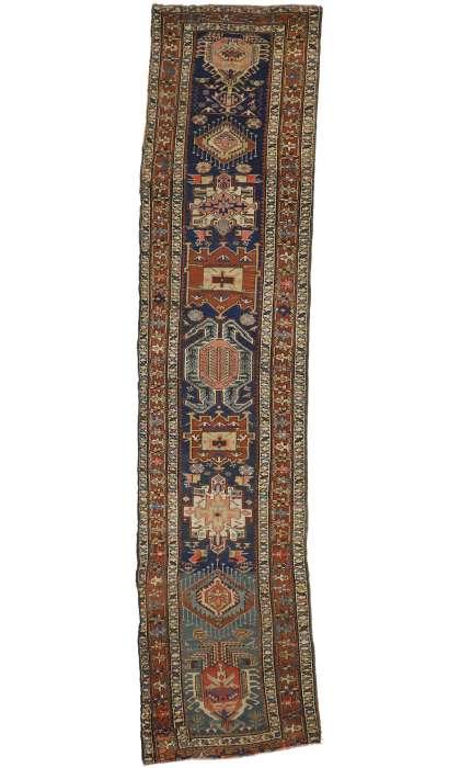 3 x 13 Antique Kazak Rug 73247