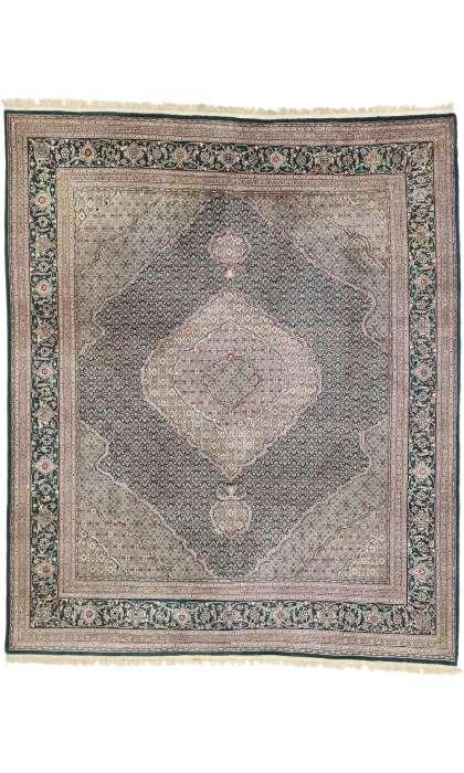 8 x 9 Vintage Tabriz Rug 77378