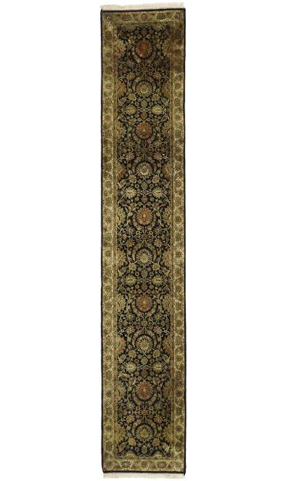 3 x 14 Vintage Indian Rug 77385