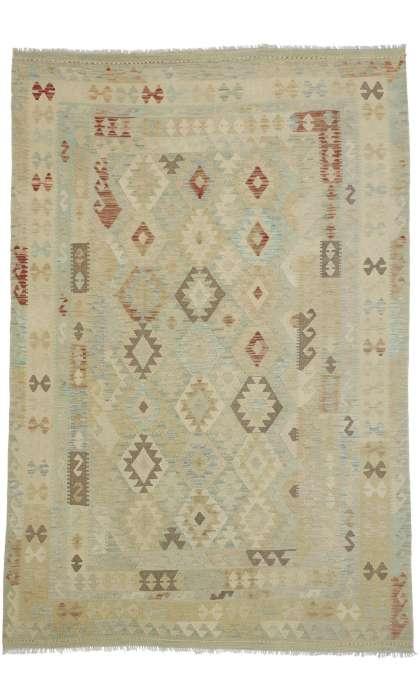 7 x 10  Vintage Kilim Rug 80118