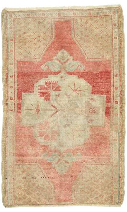 2 x 3 Vintage Oushak Rug 52683